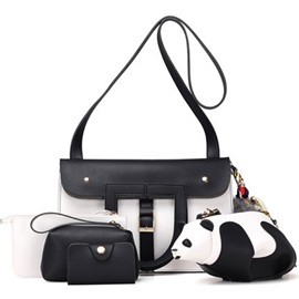 Classic Color Block Patchwork Bag Sets