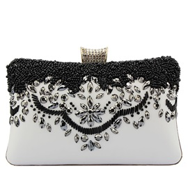 Modern Temperament Beaded Banquet Evening Clutch