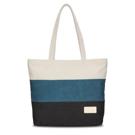 Fashion Color Block Shoulder Bag