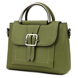 All Match Belt-Decorated Women Satchel