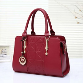 Fashionable Embossing PU Women Satchel