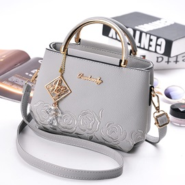 Exquisite Pendant Embossing Women Handbag