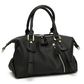 All Match Solid Color Travelling Handbag