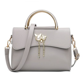Fashion Kitty Shape Pendant Women Satchel