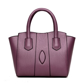 Korean Style Casual Solid Color Women Handbag