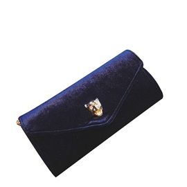 Korean Style Envelope Shape Nylon Cross Body Bag
