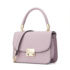Korean Style Candy Color PU Crossbody Bag