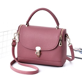 All Match Solid Color Cross Body Bag