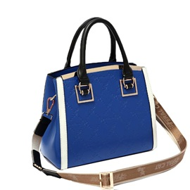 Casual Huge Capacity Zipper Satchel