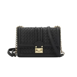 Casual Knitted Design Mini Chain Crossbody Bag