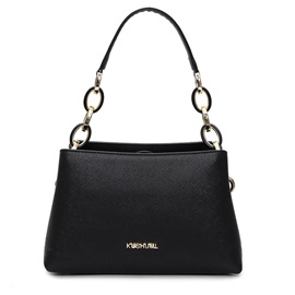 Well Match Solid Color PU Women Satchel