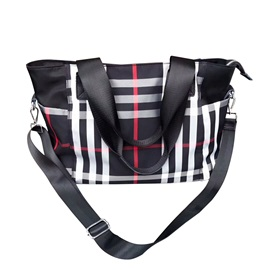 Casual Plaid Pattern Crossbody Bag