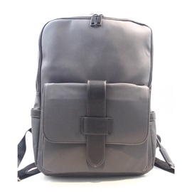 Casual Solid Color Unisex Backpack