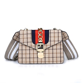 Casual Plaid Women Crossbody Bag