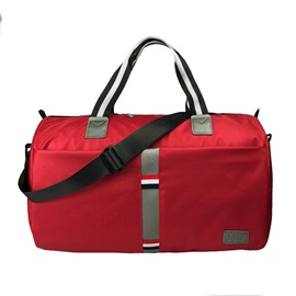 Casual Waterproof Solid Color Nylon Handbag