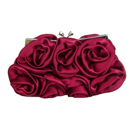 Fashion Floral Adornment Women Clutch