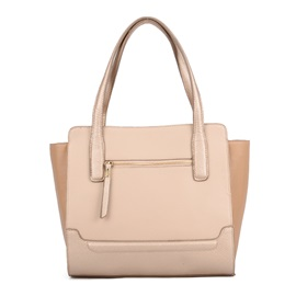 Cool Style Solid Color Tote Bag