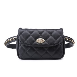 Modern Style Quilted Lining Waist Bag