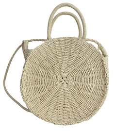 Exquisite Grass Knitted Fabric Bag