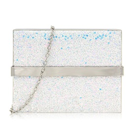 Modern Style Sequins Chain Clutches