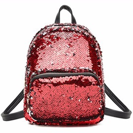 Dazzling Shining Sequins Backpack