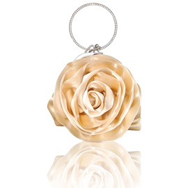 Modern Style Rose Shaped Love Clutches