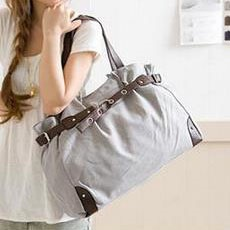 New Classy Casual Canvas Messenger/Tote Bag