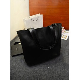 Pu Simple Large-Capacity One-Shoulder Tote