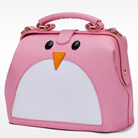 Cartoon Penguin Type Tote Bag