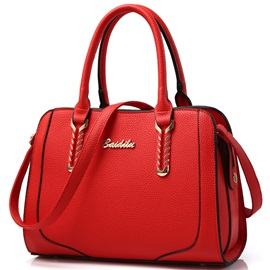 Vogue Pure Color Women Satchel