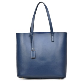 Simple Pure Color Tote Bag