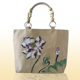 Classicism Manual Drawing Canvas Tote Bag