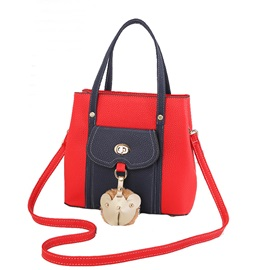 Fashion Patchwork Women Satchel