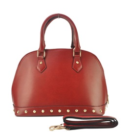 Occident Style Rivets Adornment Tote Bag