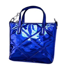 Dazzling Solid Color Women Tote Bag