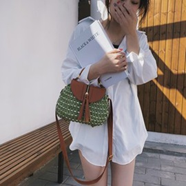 Knitted Fashion Grass Tote Bag