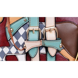 Cute Assorted Colors Little Horse Applique Tote Bag/Backpack