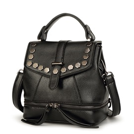 Chic Rivets Decorated Women's Backpack
