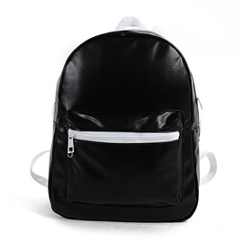 Glossy Waterproof Material Student Backpack