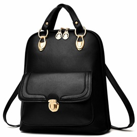Europe Pure Color Backpack