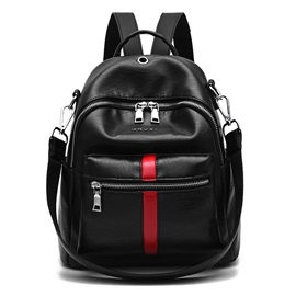 Dual-Purpose PU Women Backpack