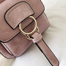 Thread PU Plain Backpack