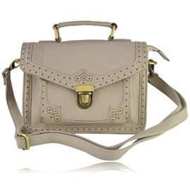 Classy All-matched Retro Cut-Outs Hollow Shoulder Bag