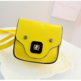 Cute Candy Color Casual One-shoulder Women's Bag