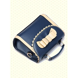 New Trendy PU with Cute Bowknot Message/Crossbody Bag