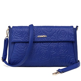 Letters Embossing Women Crossbody Bag