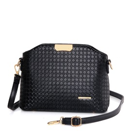 Mini Plaid Pattern Decorated Women's Crossbody Bag