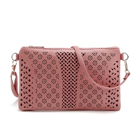 Hollow Snowflake Zipper Light Cross Body