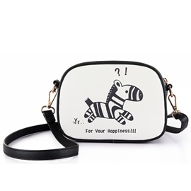 Original Lovely Cartoon Animal Print Crossbody Bag