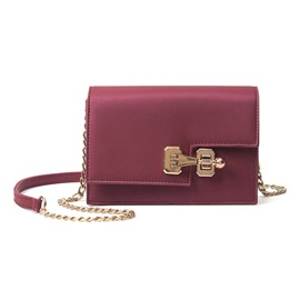 Unique Leisure Preppy Style Ling Chain Crossbody Bag